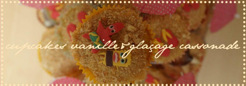 cupcakesvanilleglacagecassonade