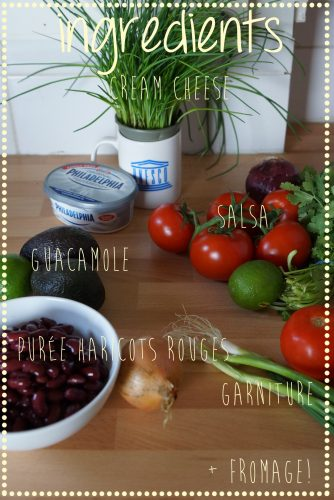 ingredients 7 layer dip