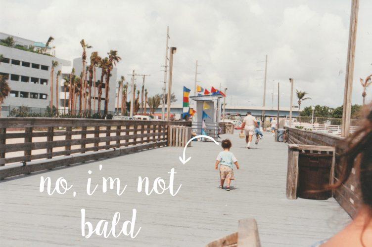 not bald