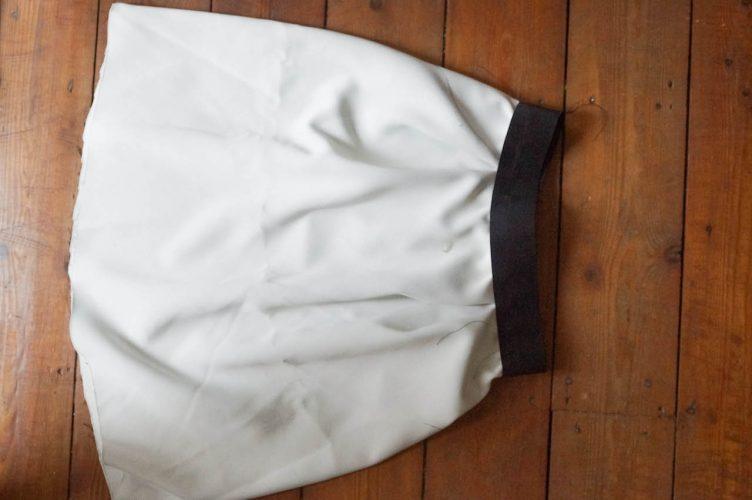 diy chic pleated skirt in fialta