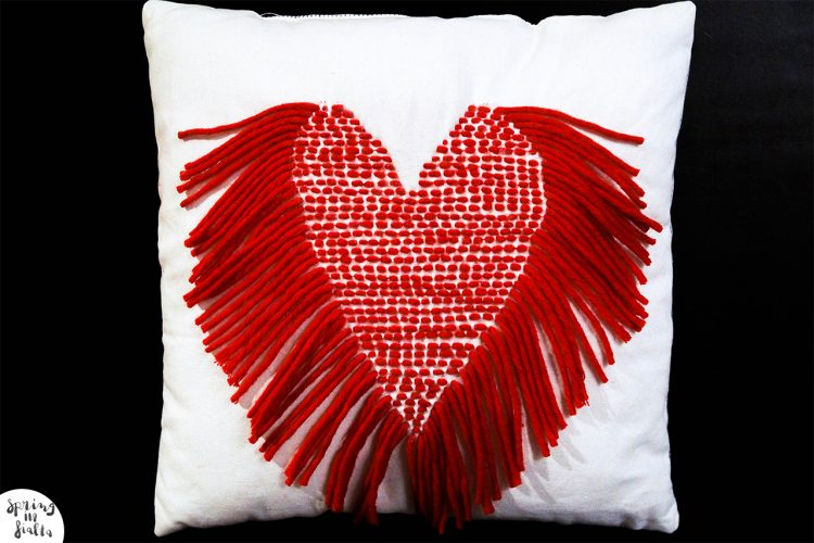 Coussin coeur final