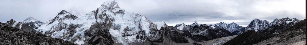 Vue du Kala Pathar 5545 m