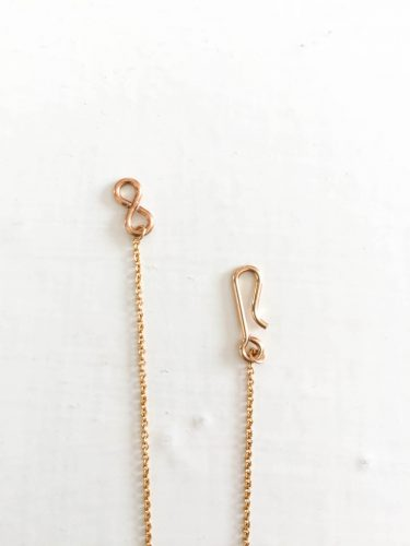 diy spring gold simple dainty necklace in fialta necklaces of
