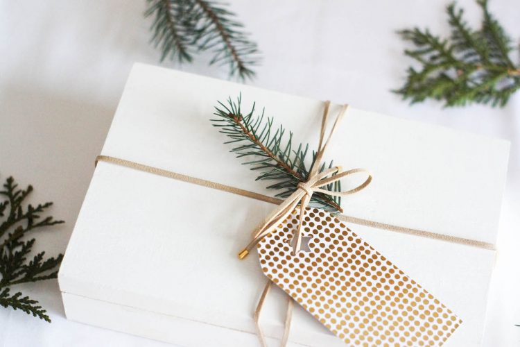 DIY emballage cadeau collier choker