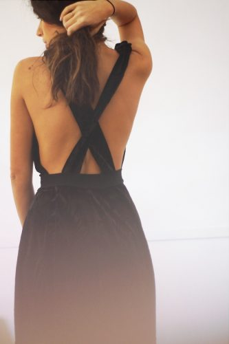 DIY refashion robe de velours