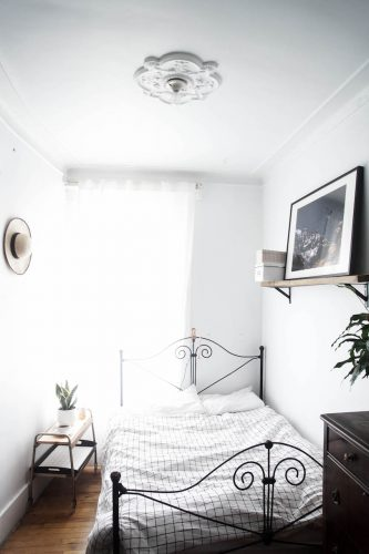 DIY grid bedding tutorial