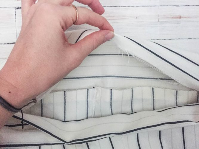 DIY pillowcase pants steps-8