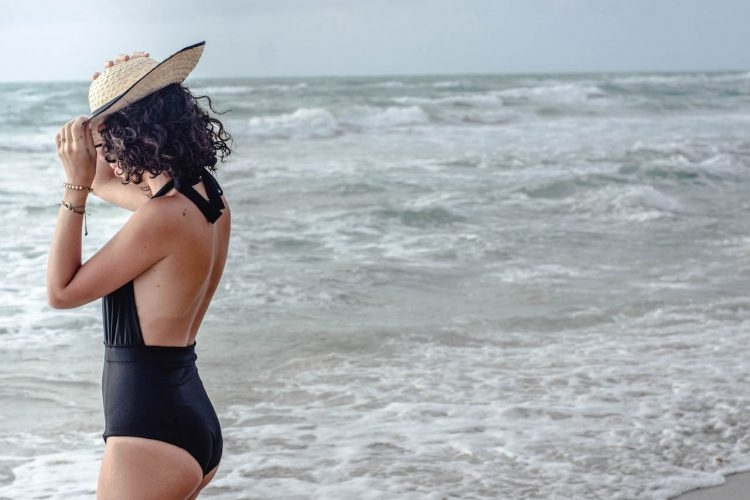 DIY one piece swimsuit