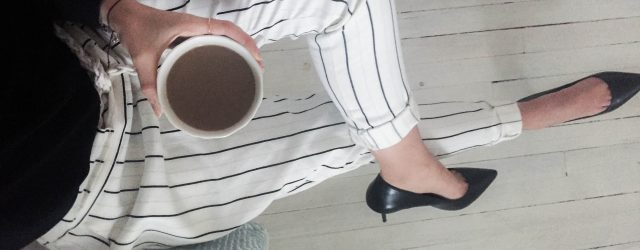 DIY striped trousers-14
