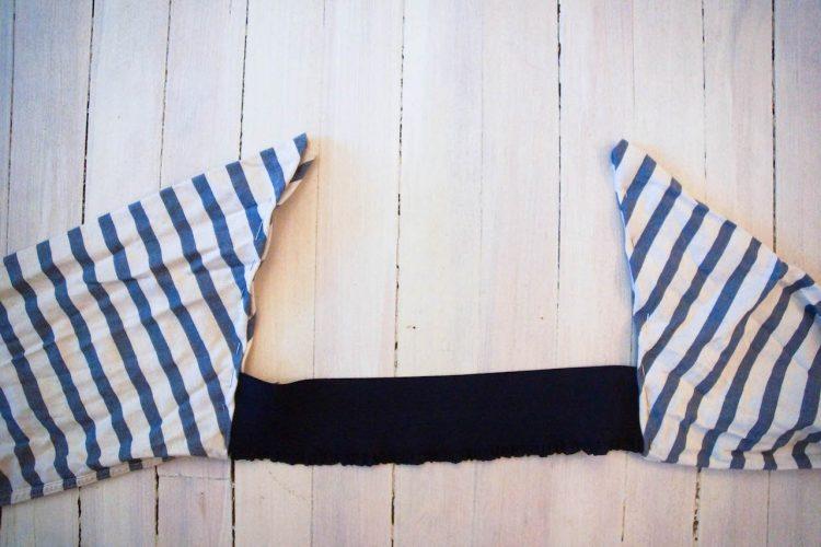 DIY robe deux piece avec chemise-6