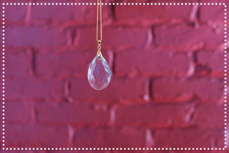 DIY : Collier pendentif de chandelier