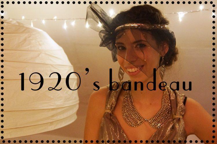 DIY : 1920's bandeau