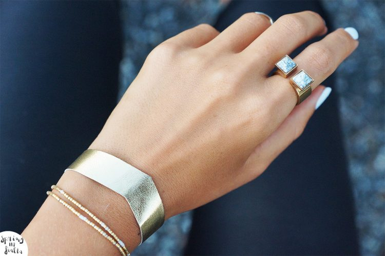 DESIGNER DIY Inspiration bracelet Maje