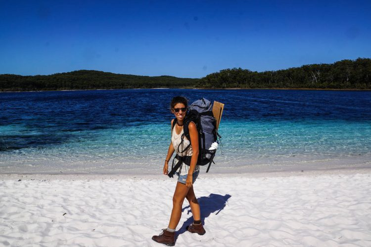 Fraser Island on foot