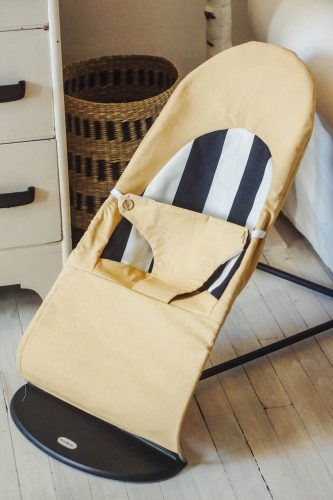 DIY housse babybjorn (+ coin table à langer)