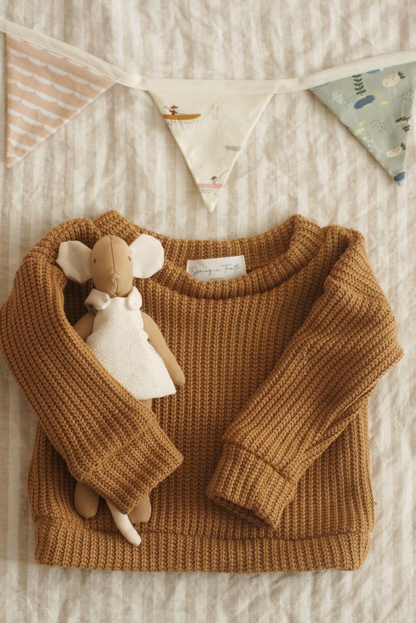 DIY : Un pull en tricot… sans tricot!