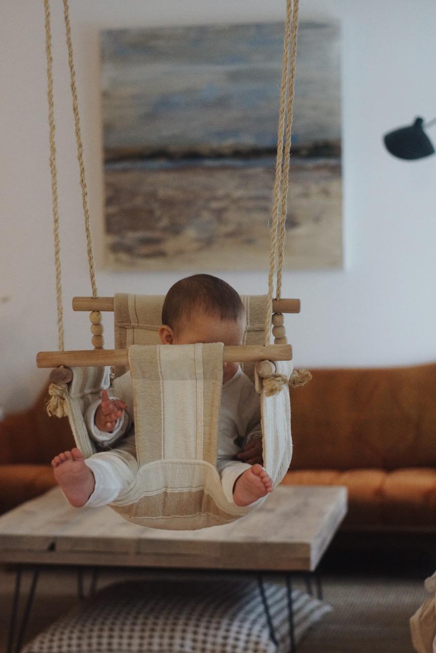 DIY balançoire bébé