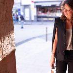 DIY cape avec un blazer (inspiration DKNY)