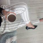 Couture : Pantalon rayé pour l'été
